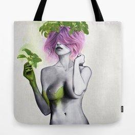 Garden Girls 1 - Basil Tote Bag