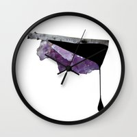 norway Wall Clocks featuring Norway by Andrea Eedes