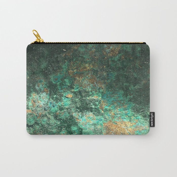 Gold and green rock Carry-All Pouch
