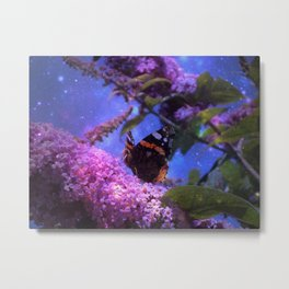 Fantasy Butterfly Metal Print