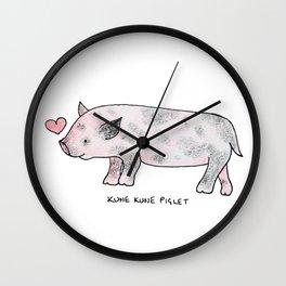 Kune Kune Pig Wall Clock
