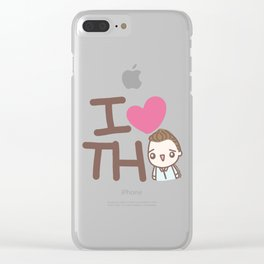 I heart TH Clear iPhone Case