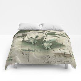 Natural Histories - Forest Spirit studies Comforters