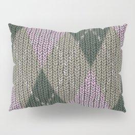 Pink Roses in Anzures 1 Argyle 1 Pillow Sham