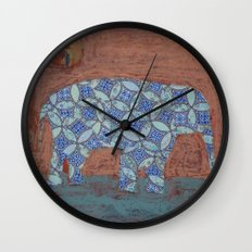 Elephant Dreams Wall Clock