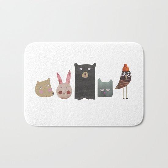 Animal love Bath Mat