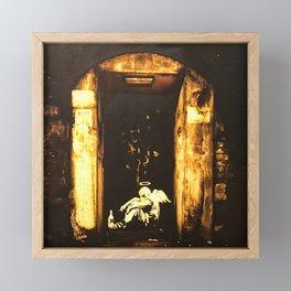 Fallen Angel Framed Mini Art Print
