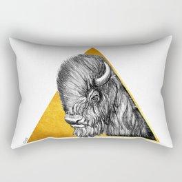 Totem - Bison Rectangular Pillow