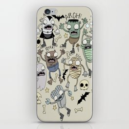 Monster Mash iPhone Skin
