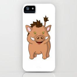 Wee Warthog iPhone Case