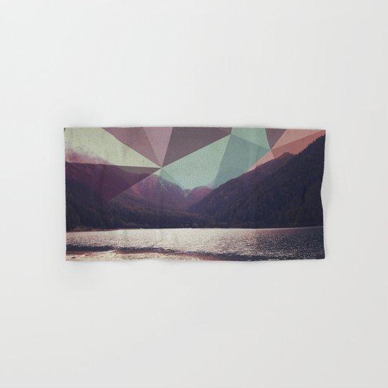 Autumnal Mountains Hand & Bath Towel