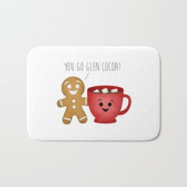You Go Glen Cocoa! Bath Mat
