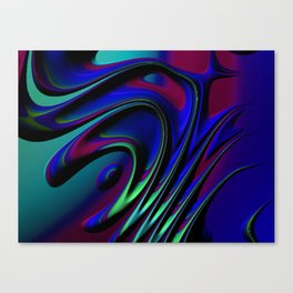 Riddles Fractal Canvas Print