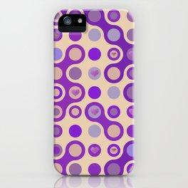 Retro pattern N3 iPhone Case