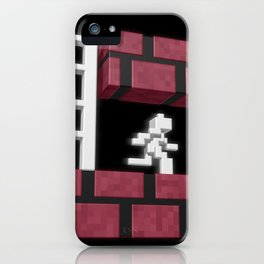 Inside Lode Runner iPhone Case