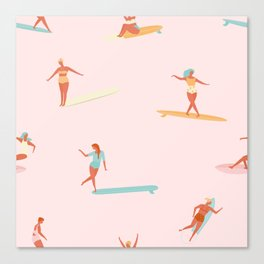 Sea babes Canvas Print