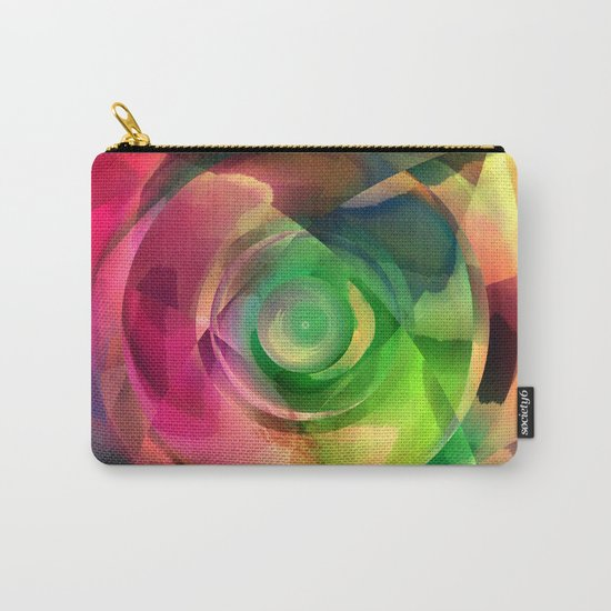 Multicolored abstract no. 14 Carry-All Pouch