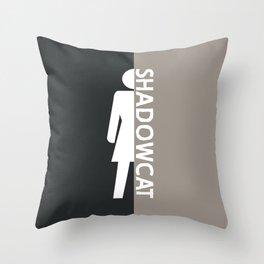Intangible Throw Pillow