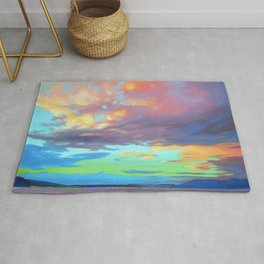 Sky Opus by Amanda Martinson Rug