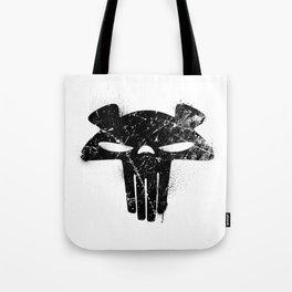 The Mega Plush Skull Tote Bag