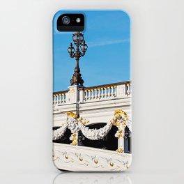 Pont Alexandre IIi - Paris, France iPhone Case