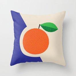 Fruitbowl, Orange Throw Pillow