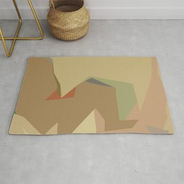 Warm Latte (Flavor in art) Rug