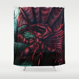Whisperer in the Darkness Shower Curtain