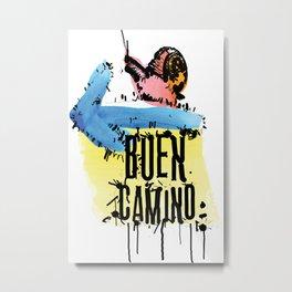 Buen Camino Metal Print