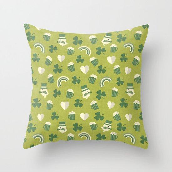 TOP O' THE MORNIN' Throw Pillow
