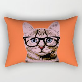 Warhol Cat 2 Rectangular Pillow