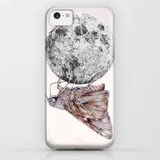 In which a moth is enticed by the light of the moon Slim Case iPhone 5c