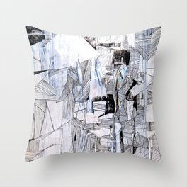 Distant Folding Throw Pillow