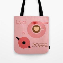 Love & Coffee Tote Bag