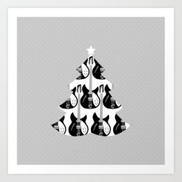 Christmas Tree #12 Art Print