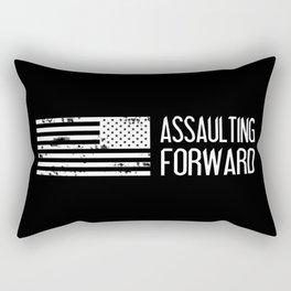 U.S. Military: Assaulting Forward Rectangular Pillow