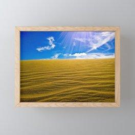 Great Dunes, New Zealand Framed Mini Art Print