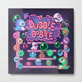 Bobble Bubble Metal Print