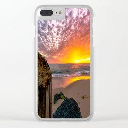 The Wedge Newport Beach, CA 2016 Clear iPhone Case