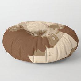 Mark Twain Floor Pillow