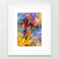 prism Framed Art Prints featuring Prism by renajoy