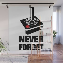 Never Forget Art Wall Mural