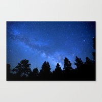 milky way Canvas Prints featuring Milky Way by 2sweet4words Designs