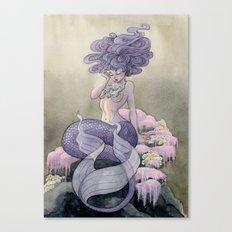 Lavender Mermaid Canvas Print