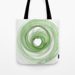 Valentine's Fractal V - Light Tote Bag