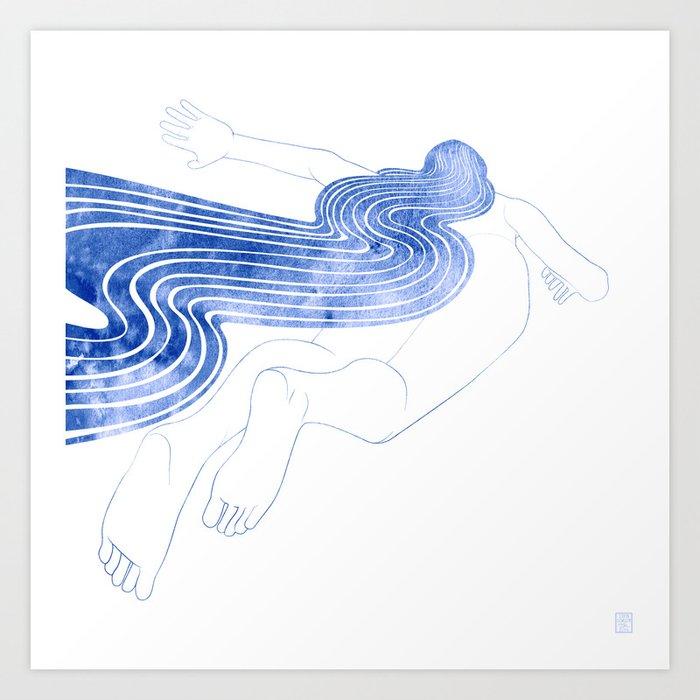 Water Nymph XLVII Art Print