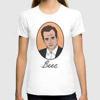 bees T-shirts featuring Bees. by Hard Lily