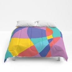 Geometric Beach Ball 2 Comforters