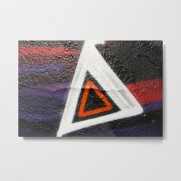 Double Triangle  Metal Print