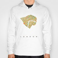 london Hoodies featuring London by Nicksman